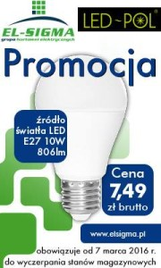 Żarówka LED 10W